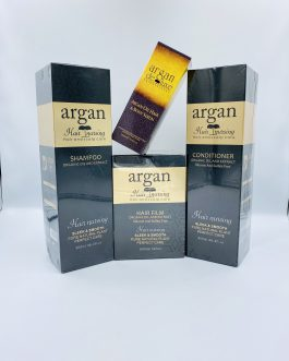 Argan deluxe argan oil shampoo, hair care set
