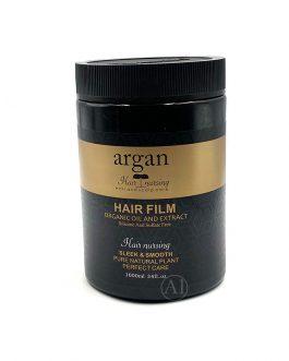 Argan Hair Film Organic Oil And Extract