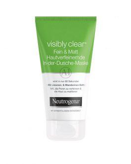Neutrogena Visibly Clear Fein & Matt Skin Pore-Refining & Mattifying Face Mask 150ml