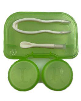 Contact Lens Case Green