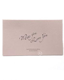 Miss You Love You Perfume – Eau De Toilette set