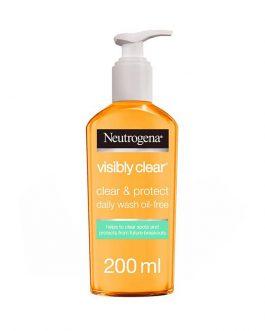 Neutrogena – Visibly Clear Facial Wash 200ml