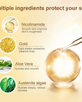 l´APEU – 24k gold moisturizing face cleanser