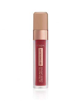 L'Oreal Les Chocolats Ultra Matte Liquid Lipstick – Tasty Ruby #864