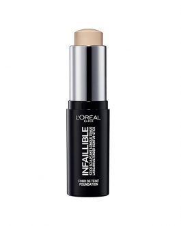 L'Oreal Infallible Shaping Stick Foundation – Radiant Beige #180