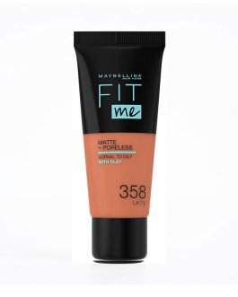 Maybelline Fit Me! Matte and Poreless Foundation 30ml – #358 Latte