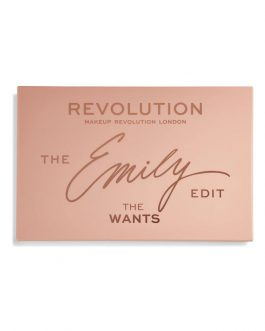 Makeup Revolution – Revolution x The Emily Edit – The Wants Palette