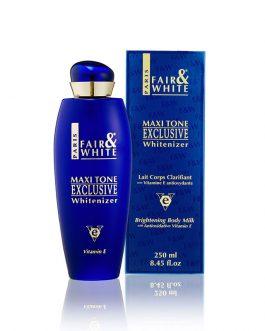 Fair & White Maxitone Exclusive Whitenizer Body Lotion Anti-Ageing Milk Vitamin E – 250ml