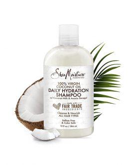 100% Virgin Coconut Oil Daily Hydration Shampoo
