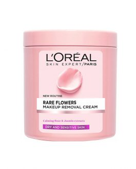 L'Oreal Rare Flowers Makeup Removal Cream for Dry & Sensitive Skin