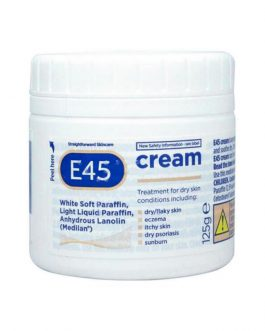 E45 Dermatological Cream Treatment for Dry Skin Conditions 125g
