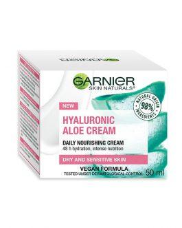 Garnier Skin Naturals Hyaluronic Aloe Cream – Dry & Sensitive Skin – 50ml